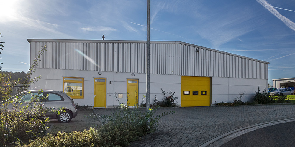 Schuhbedarf e.G. Wolfenbüttel | Hallenbau Giesler & Co. GmbH