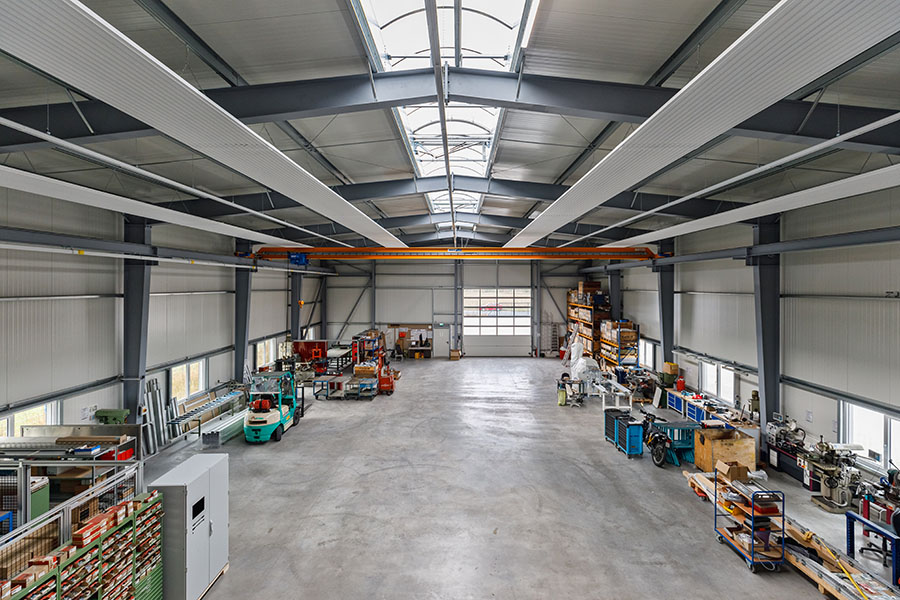 Schindler Handhabetechnik Salzgitter | Hallenbau Giesler & Co. GmbH